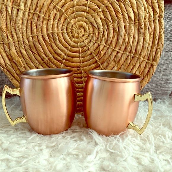 Old Dutch International Other - Copper/Stainless Steel Moscow Mule Mugs-2